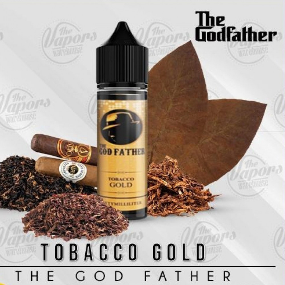 نكهة قود فاذر توباكو جولد 60 ملي - THE GOD FATHER TOBACCO GOLD - 60ML