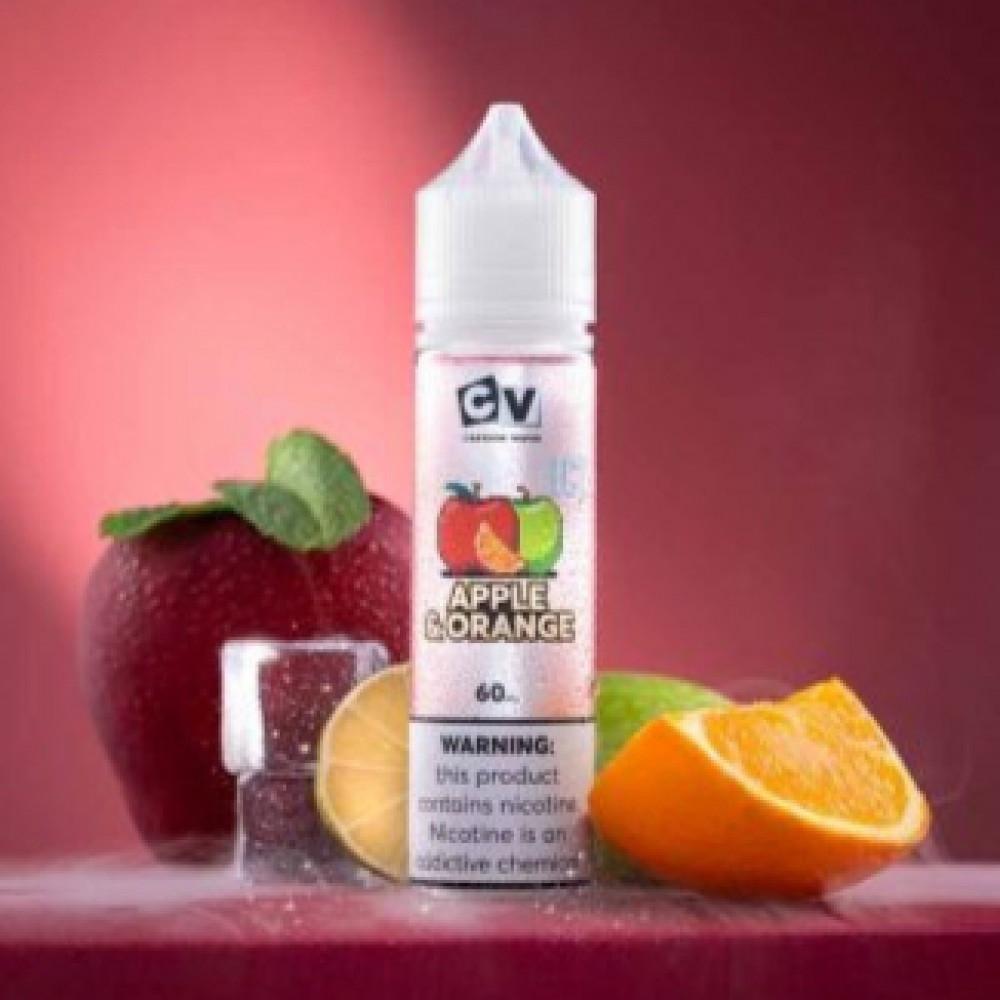 نكهة سي في تفاح برتقال آيس 60 ملي - CV APPLE ORANGE ICE - 60ML