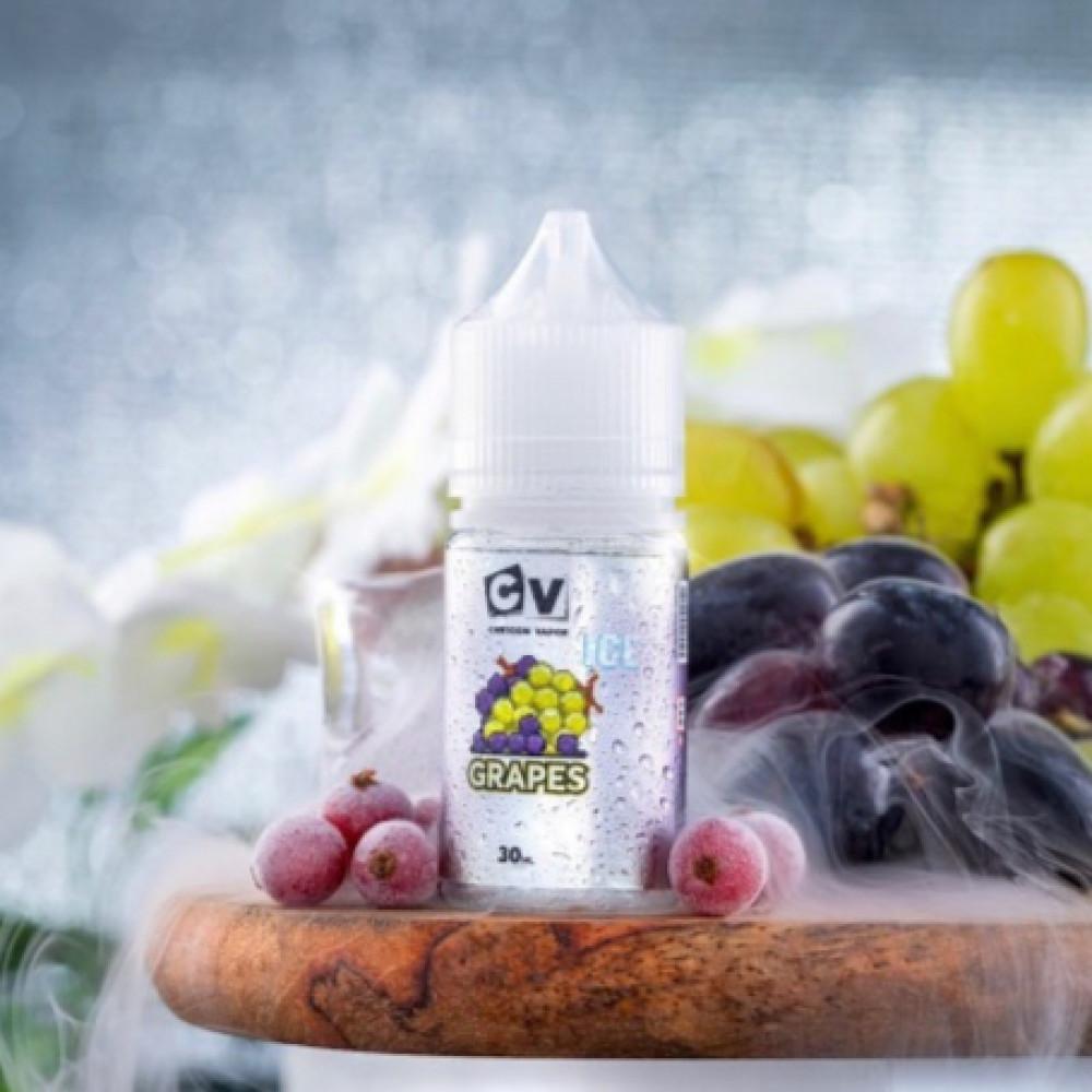 نكهة سي في عنب آيس سولت نيكوتين - CV GRAPES ICE - Salt Nicotine