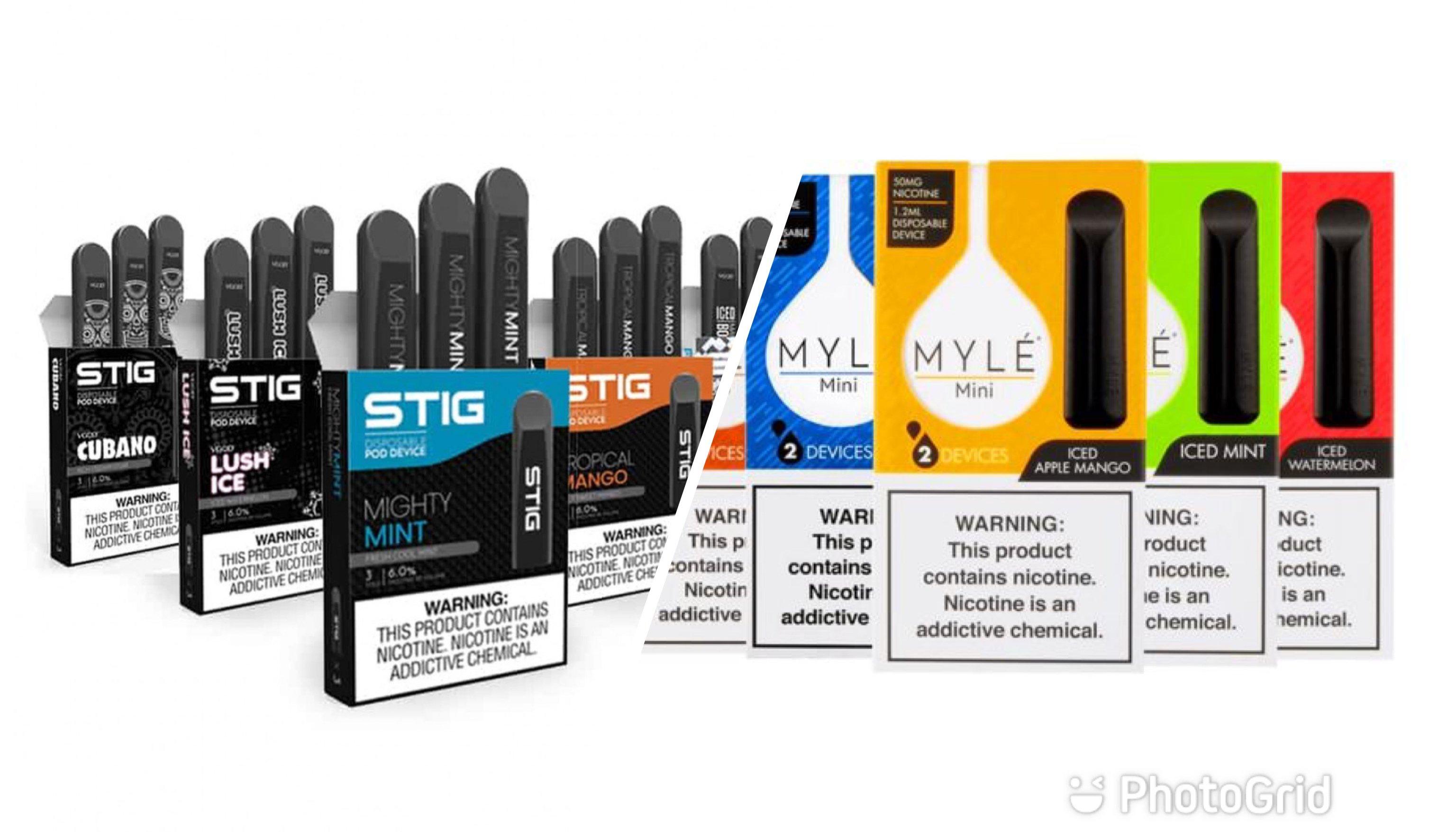 سحبات سيجارة معبأة استخدام مرة واحدة - Disposable Vape Device