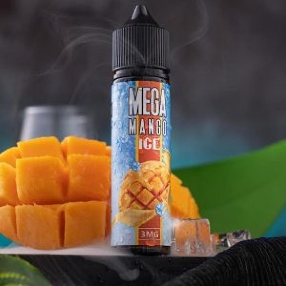 نكهة ميجا مانجو آيس 60 ملي - MEGA MANGO ICE - 60ML - نكهات فيب شيشة