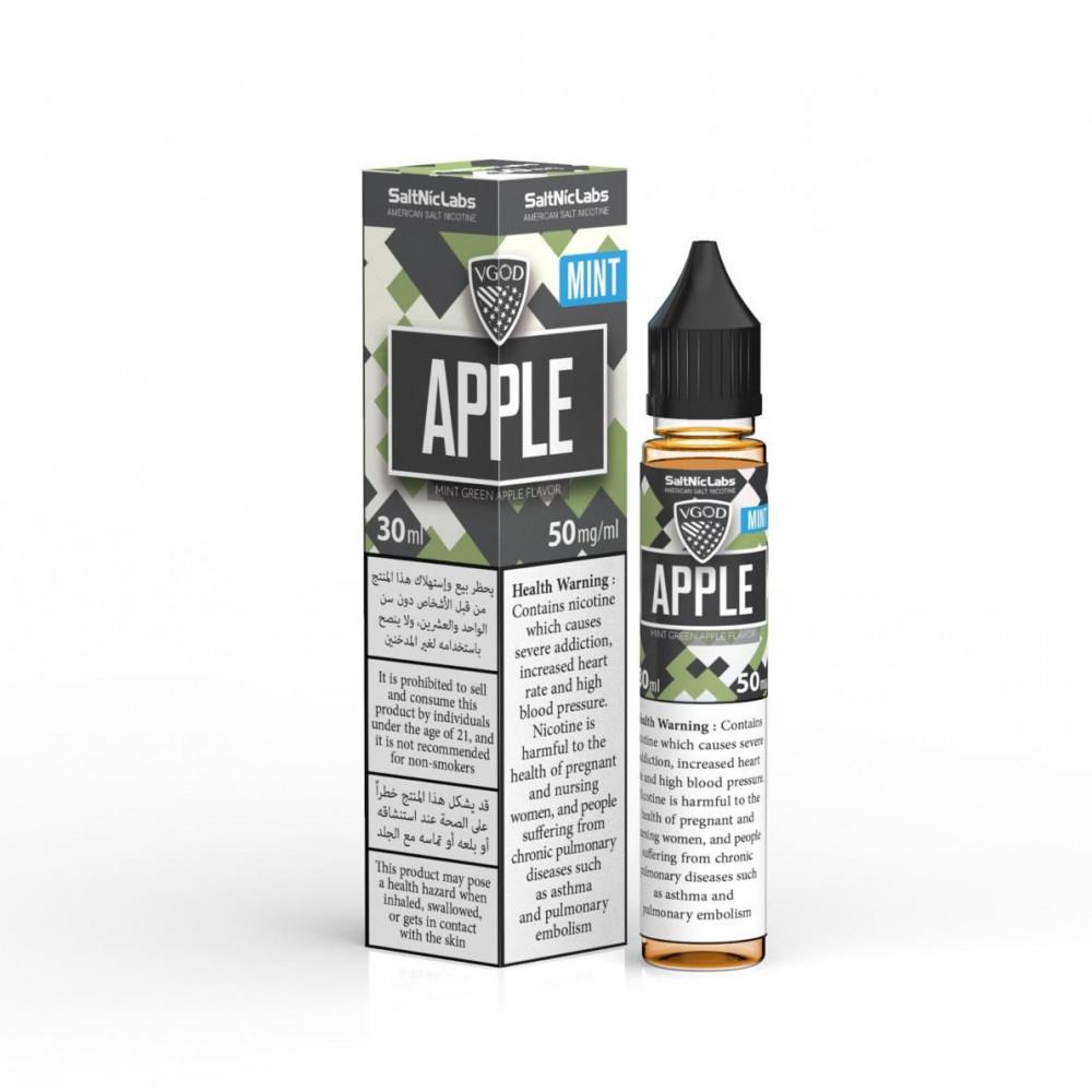 نكهة فيقود تفاخ اخضر نعناع سولت نيكوتين - VGOD Apple Bomb MINT Salt Ni