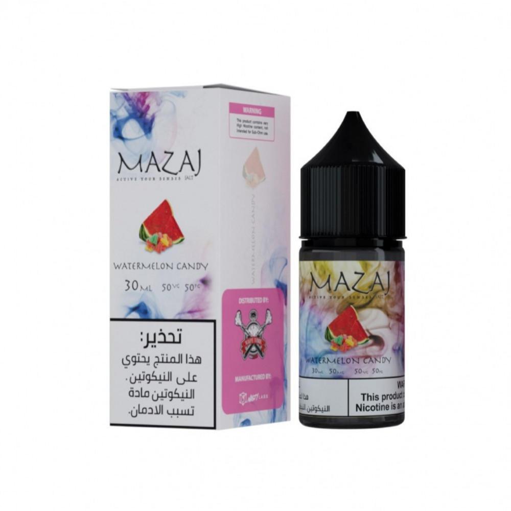 نكهة مزاج بطيخ سولت نيكوتين - MAZAJ Watermelon Candy - Salt Nicotine