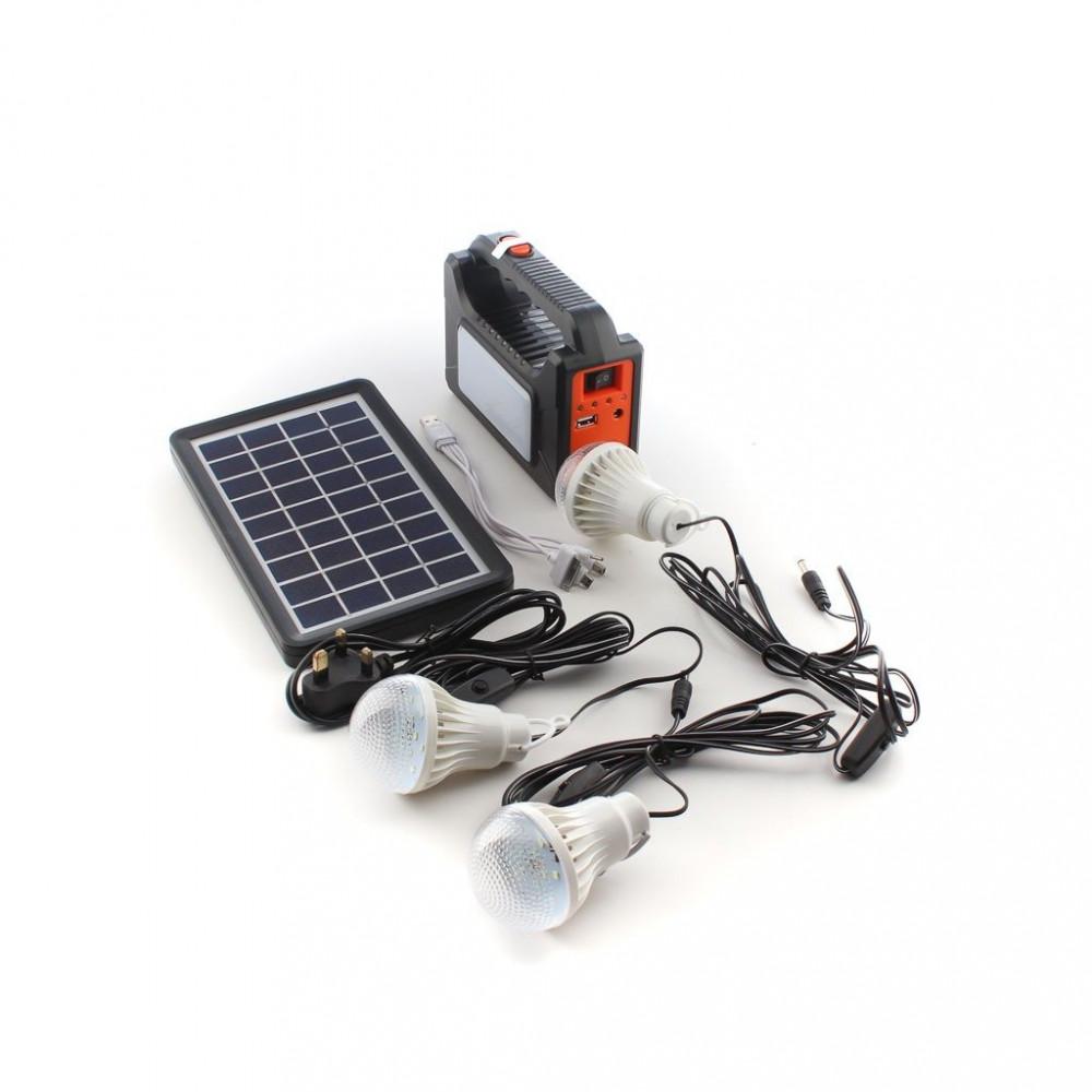 كشاف - عقد 3 لمبات بالطاقة الشمسية - كهرب