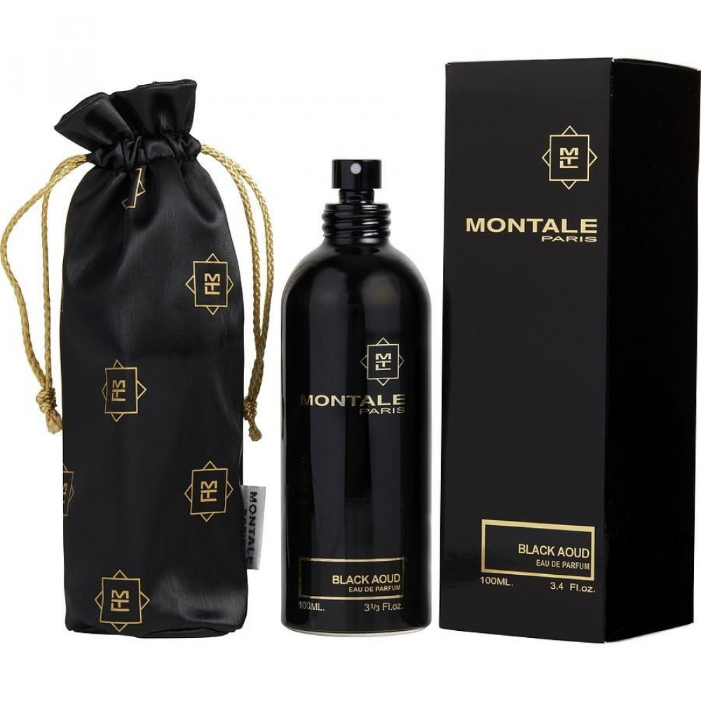 Black Aoud by Montale for unisex Eau de Parfum 100 ml