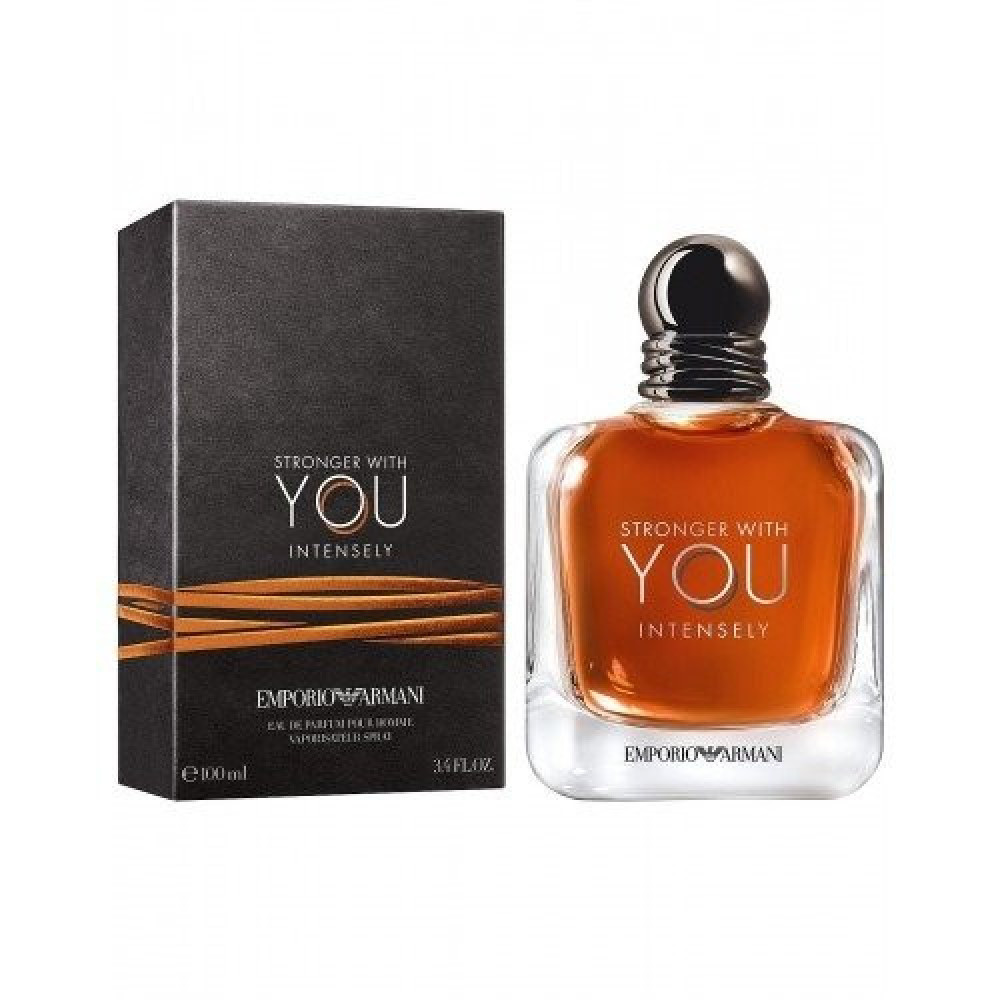 Emporio Armani Stronger With You Intensely for Men 3 Gift Set متجر خبي