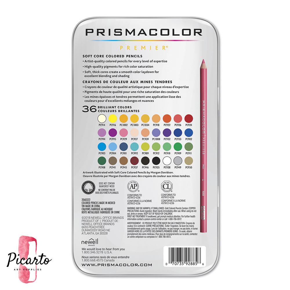 بريزماكلر - 36 لون خشبي - بيكارتو