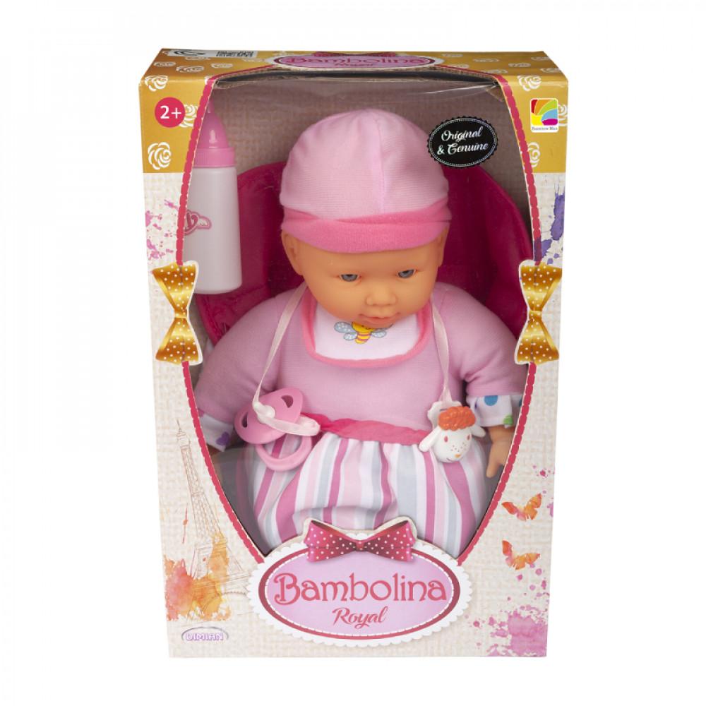 عروسة بامبولينا رويال مع حاملة الطفل, Bambolina, Toys