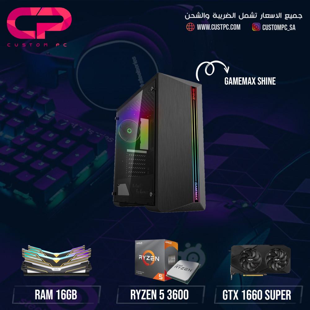 Ryzen 3600x GTX 1660 Super تجميعة كمبيوتر PC GAMING