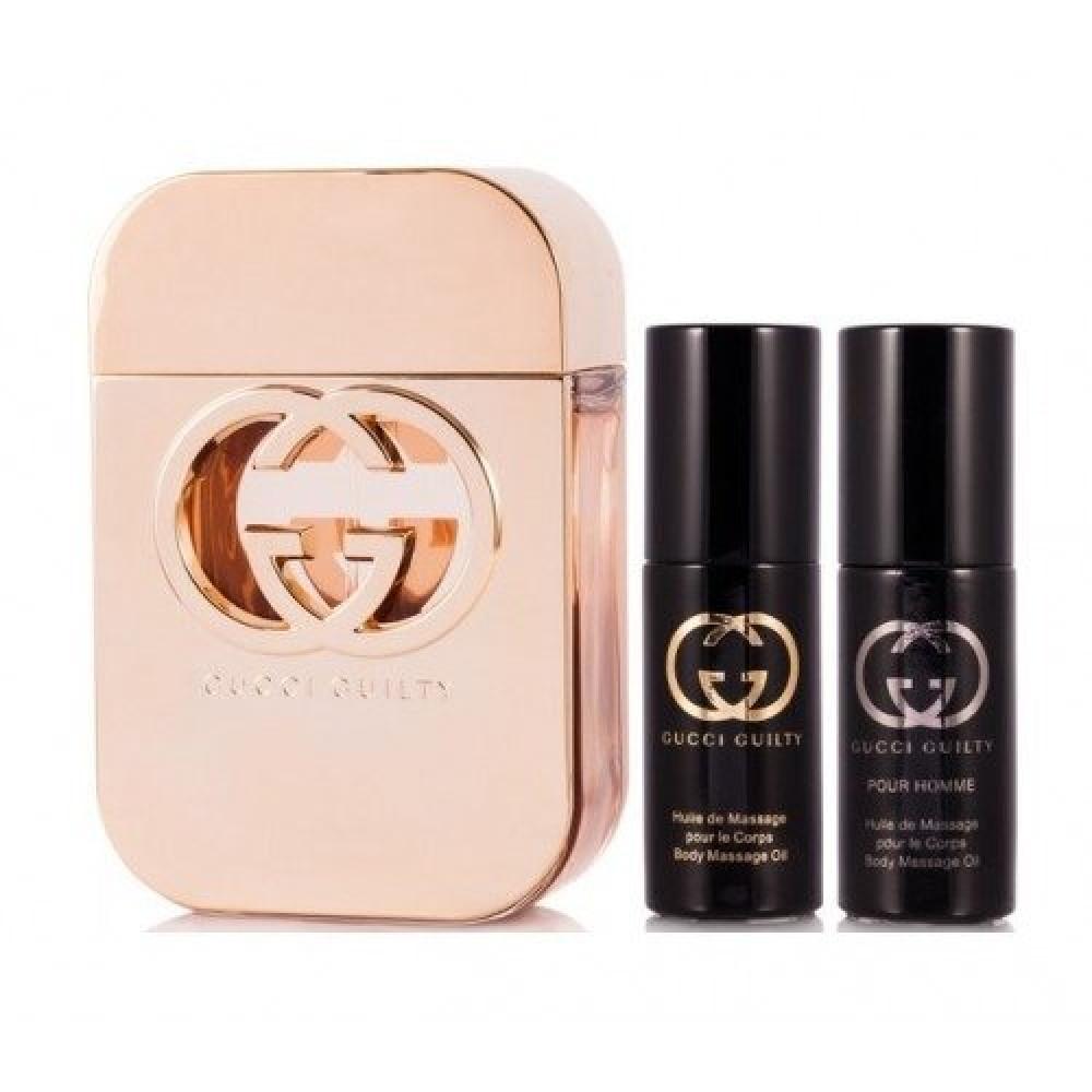 Gucci Guilty for Women Eau de Toilette 3 Gift Set متجر خبير العطور