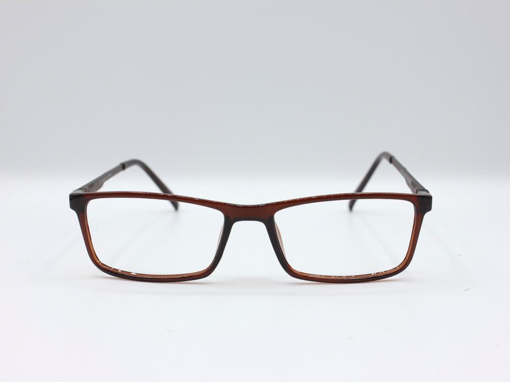 نظارة طبية من ماركة T مستطيلة الشكل مع عدسات بحماية بنيه للجنسين 2021