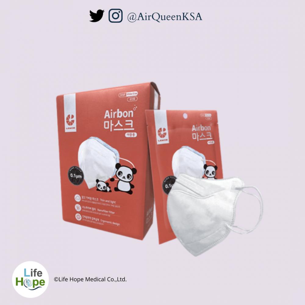 كمامة آيربون كمامة نانو فايبر للاطفال airbon mask nanofiber  for kids
