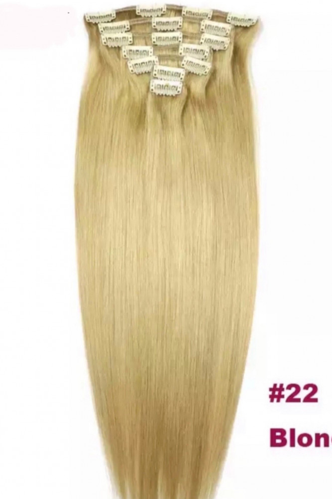 وصلات الشعر الطبيعي الاشقر برزيلي المنشأ