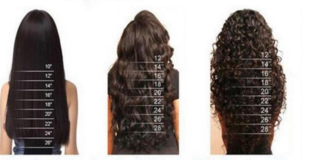 وصلات الشعر الطبيعي الجذاب دائم
