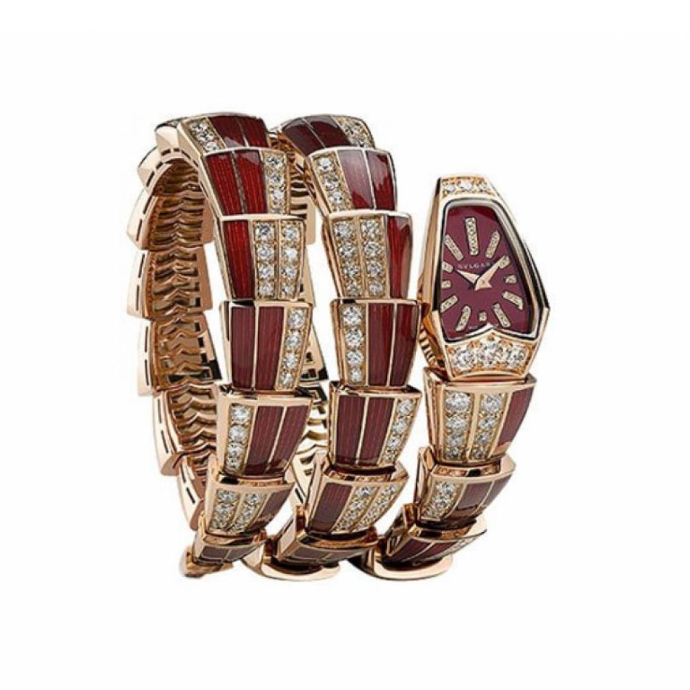 ساعة بولغري الثعبان سيربنتي الأصلية الثمينة