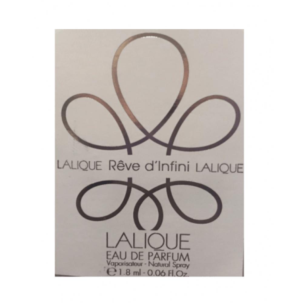 Lalique Reve dInfini Eau de Parfum Sample 1-8mlخبير العطور
