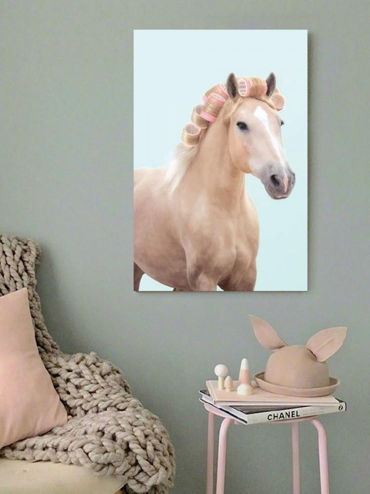 لوحة الحصان كيوت خشب ام دي اف مقاس 40x60 سنتيمتر