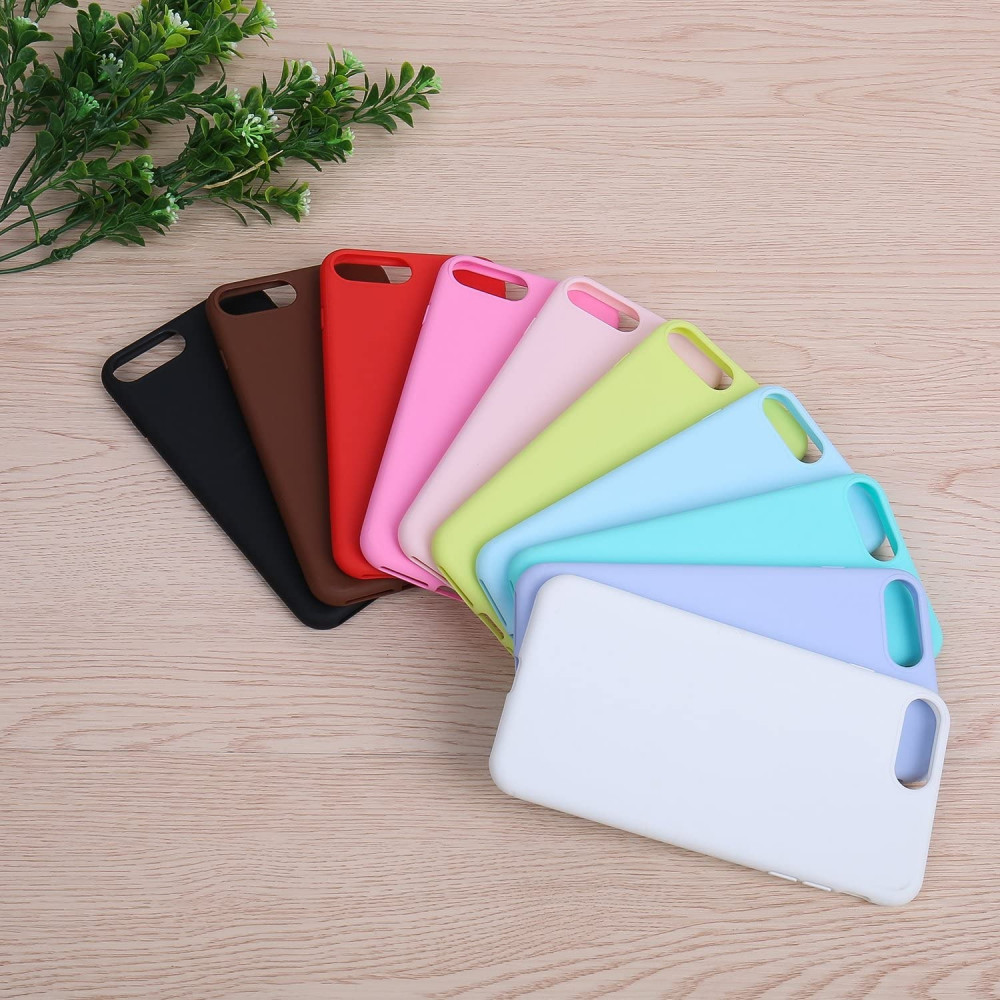 iPhone 8 - iPhone 7 Silicone Case - لون رصاصى