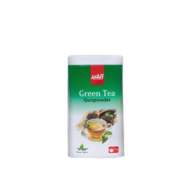 كرتون شاي الخير اخضر 200 جم - 12 علبة