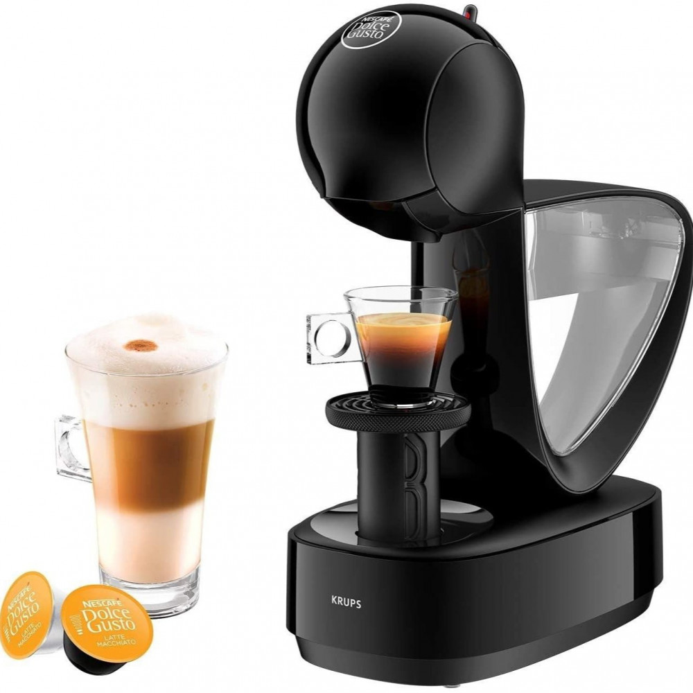 جهاز القهوة - ماكينة قهوة نسكافيه دولتشي قوستو انفينيسيما من كربس اسود
