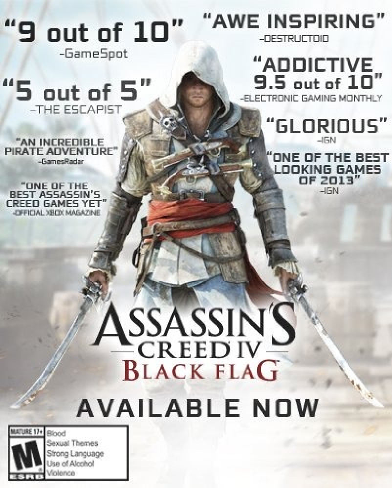Assassins Creed IV Black Flag - PlayStation 4
