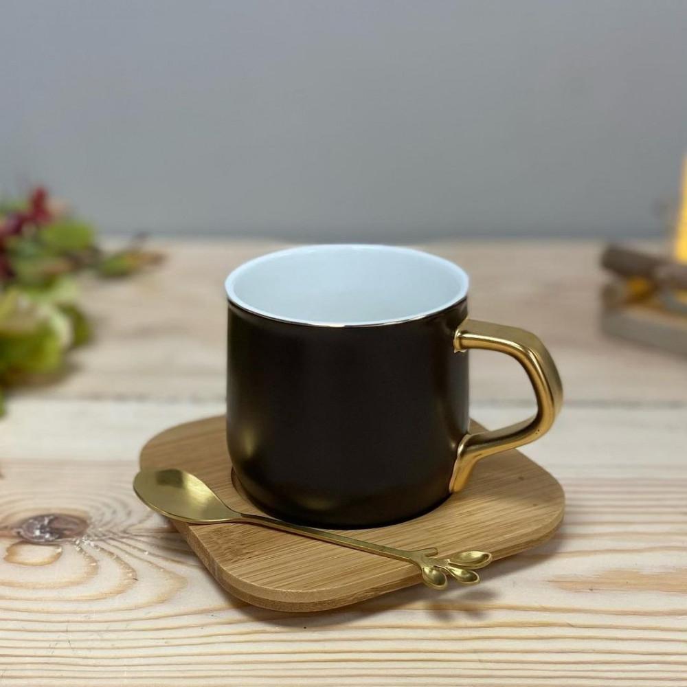 فنجان كابتشينو فنجان مع صحن وملعقة فنجان موكا فنجان نسكافيه