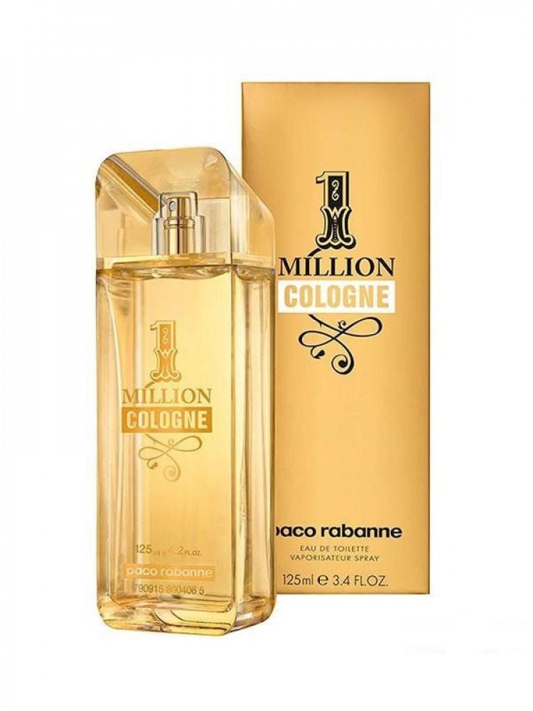 1 Million Cologne by Paco Rabanne for men Eau de Toilette 125ml
