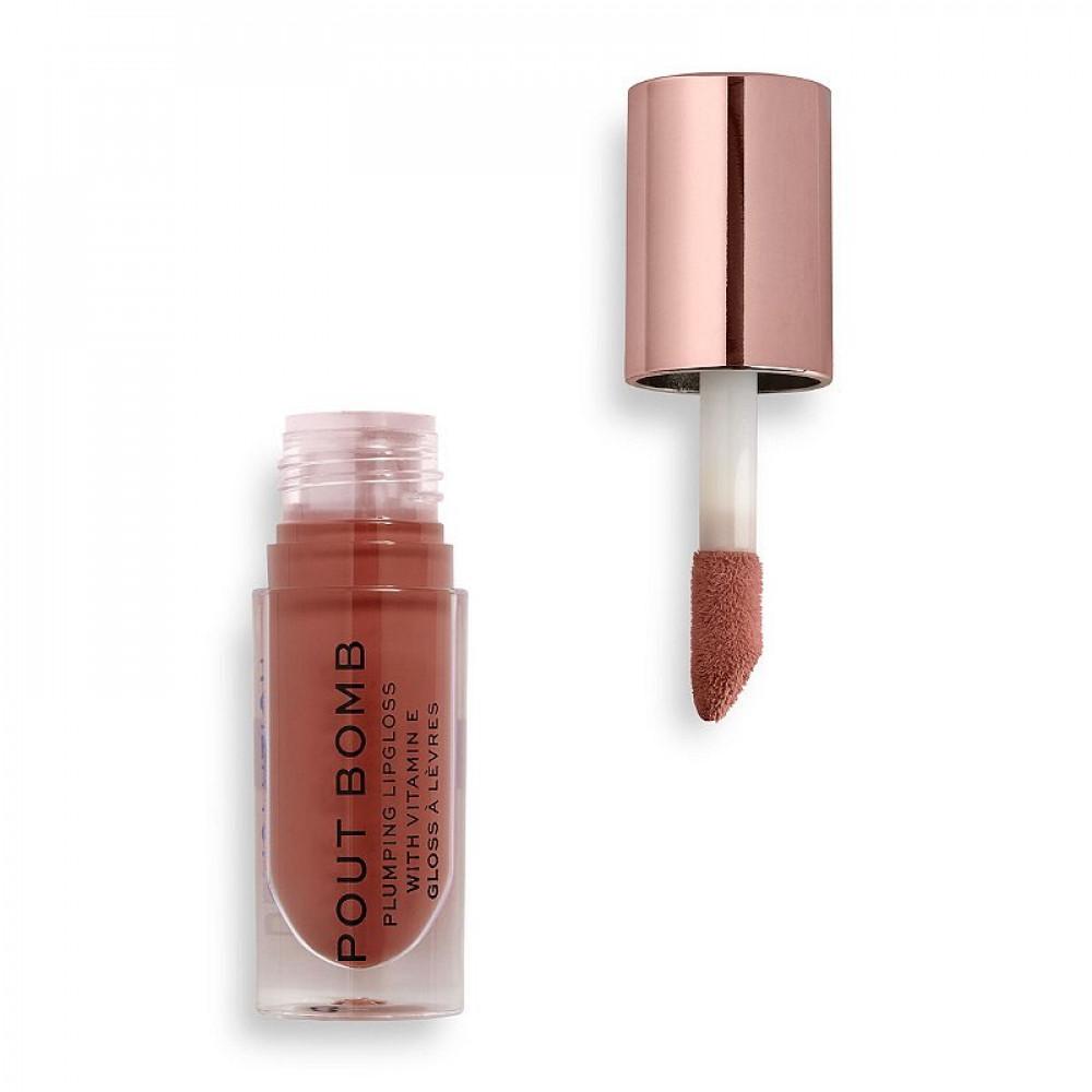 قلوس من ريفلوشن Revolution Pout Bomb Plumping Lip Gloss - Cookie
