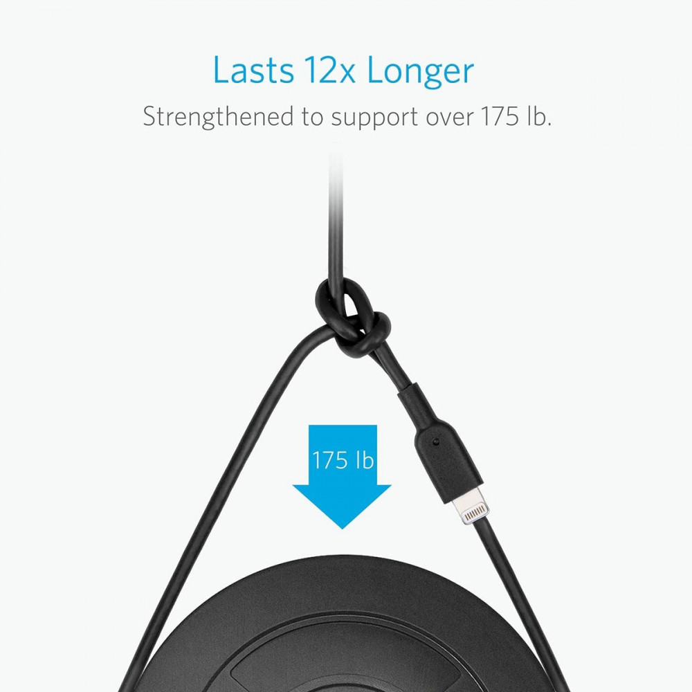 Anker Powerline II Lightning Cable Black