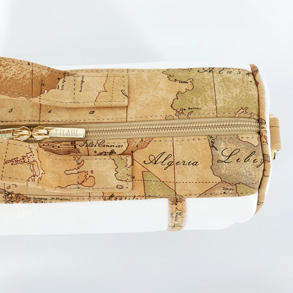 حقيبة يد باللون البيج من ماركة Alviero Martini