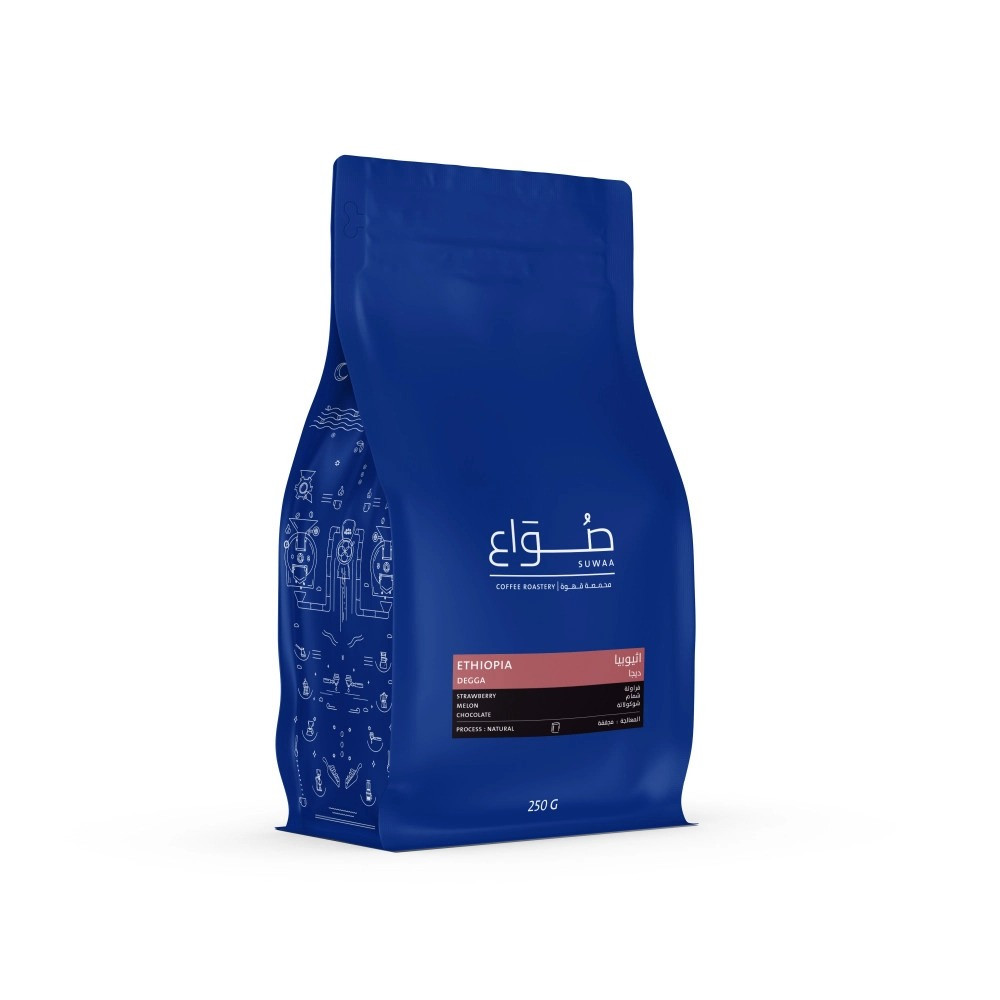 اثيوبيا ديجا محمصة صواع قهوة مختصة