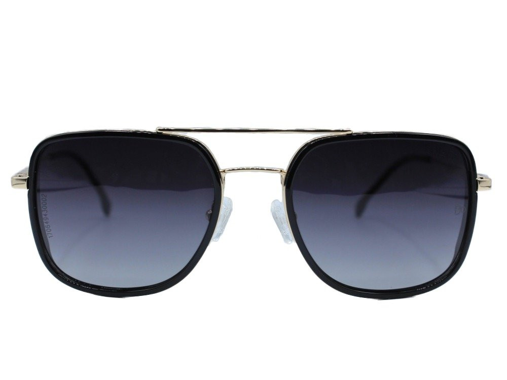 نظاره شمسية مربعه من ماركة BALENO  لون العدسة اسود مدرج تصميم كلاسيكي