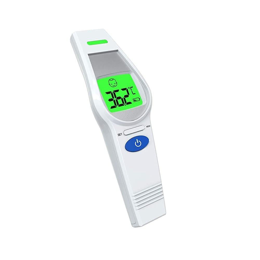 جهاز الفا ميد , جهاز قياس الحرارة من الجبهه