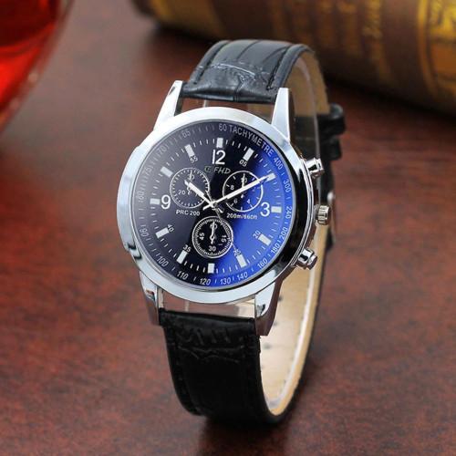 ساعة حزام من جلد